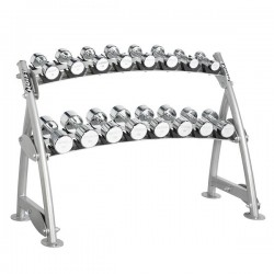2-TIER HORIZONTAL BEAUTY BELL RACK (8 PAIRS)