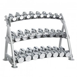 3-TIER HORIZONTAL BEAUTY BELL RACK (12 PAIRS)