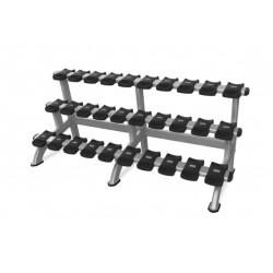 Mancuernero modelo Triple Dumbbell Rack
